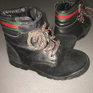 Gucci suede Trento boots / unisex
